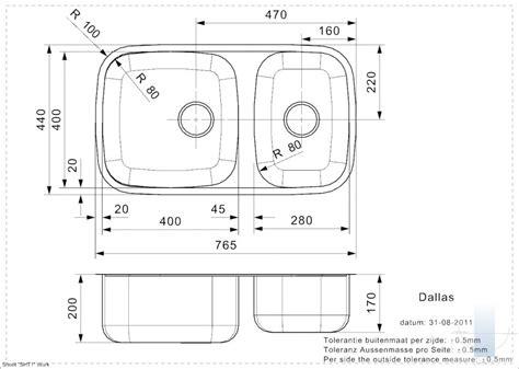 Dallas (L) integrētā virtuves izlietne | Vannupasaule.lv