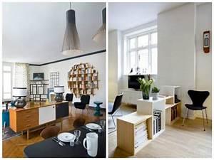 Meuble De Separation Design : tendance d co des meubles en guise de s paration myhomedesign ~ Teatrodelosmanantiales.com Idées de Décoration