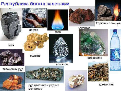 Характеристики природного газа