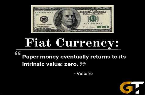 What Is Fiat Currency by There Is No Escaping History Fiat Currency Eventually