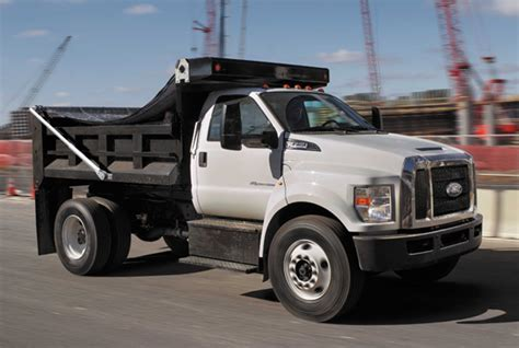 Ford F650 And F750 Get Updates For 2018 Pickuptrucks