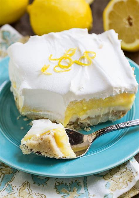 lemon lush dessert graham cracker crust