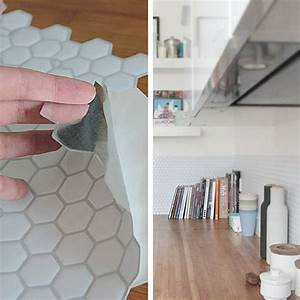 Adhésif Carrelage Cuisine : carrelage de cuisine adhesif ~ Premium-room.com Idées de Décoration