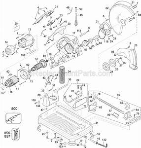 Tool Smart Usa  Dewalt Chop Saw Parts Diagram Youtube