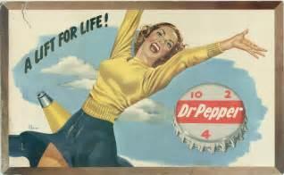Dr Pepper 1950s Ad