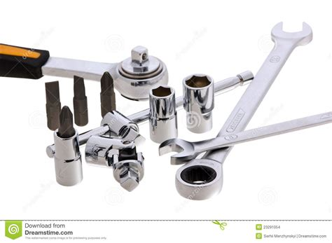 Set Of Keys Of Different Types Stock Images