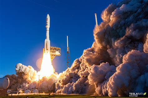 NASA's Mars Rover blasts off on ULA rocket for mission to ...