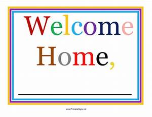 welcome back signs free printable
