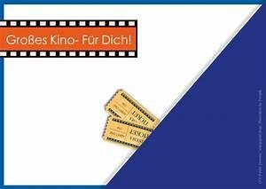 Einverständniserklärung Kino Vorlage : geschenkgutschein kino kostenlose vorlage zum download ~ Themetempest.com Abrechnung