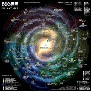 Mass Effect Galaxy Map by otvert on DeviantArt