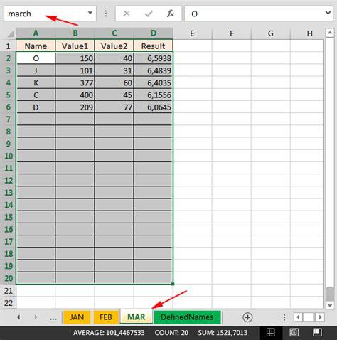 sum values  multiple worksheets  excel