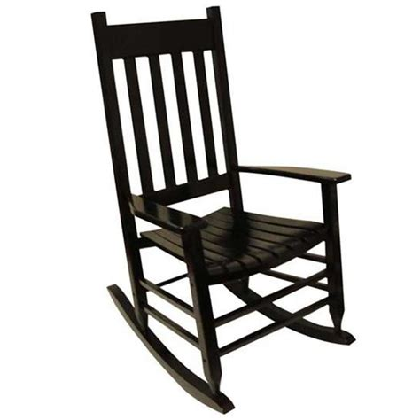 outside porch flooring shop acacia rocking chair with slat seat at lowes com