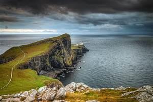 Coast, Scotland, Crag, Nature, Wallpapers, Hd, Desktop, And, Mobile, Backgrounds