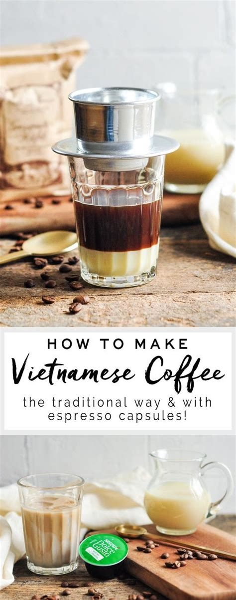 Condensed milk contains sugar and heat processed with steam. Vietnamese Coffee   Recipe   Vietnamese iced coffee, Coffee recipes, Food