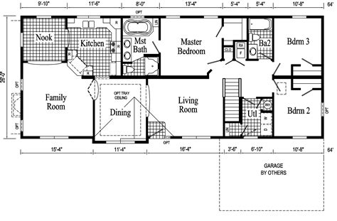 open floor plan ranch style homes monticello ranch style modular home pennwest homes model s hv101 a hv101 1a hv101 2a
