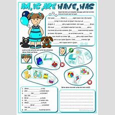 Am ,is, Are, Have, Has Worksheet  Free Esl Printable Worksheets Made By Teachers