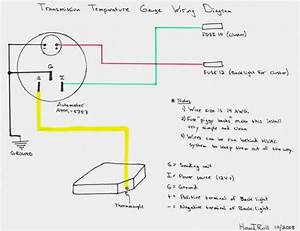 Auto Meter Fuel Gauge Wiring Diagram