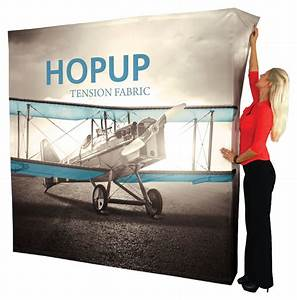 Hop Up 2x3 Straight Pop Up Display With Full Fitted