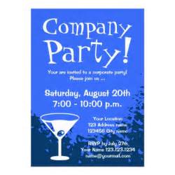 bridal party invitation wording blue corporate party invitations personalize online