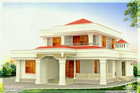 Interior Sample House Colour Elevation Images Color