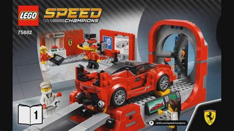 The first set under the lego speed champions set was released in 2015. LEGO Speed Champions 75882 Ferrari FXX K & Development Center - instruction timelapse - YouTube