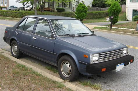 old nissan coupe file 1st nissan sentra sedan jpg wikimedia commons
