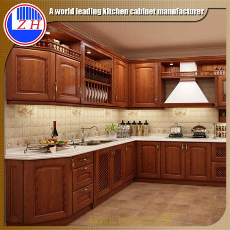 ready  wall mounted solid wooden kitchen cupboard