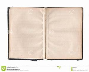 Blank Pages In Old Book Stock Image - Image: 3060361
