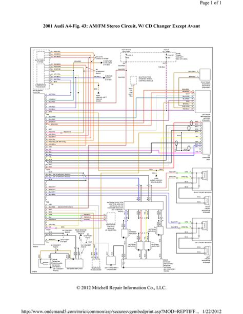 audi symphony radio wiring diagram 34 wiring diagram