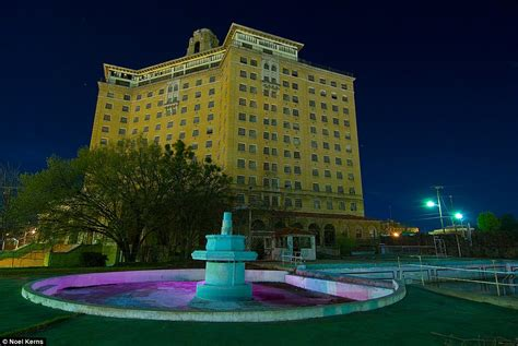 Most haunted hotel in texas. Texas once spectacular Baker hotel in ruins   Daily Mail ...
