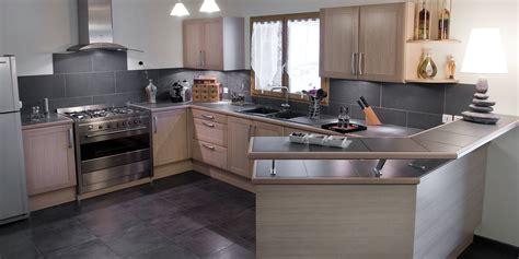 plan cuisine design vente de cuisine en bois avec plan snack à foy acr