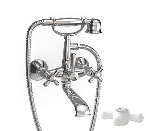 Wall Mounted Bathroom Faucets Canada by Jalo Majestic Wall Mounted Bath Shower Faucet With