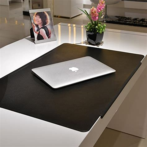 extra large leather desk mat lohome desk pads artificial leather laptop mat with