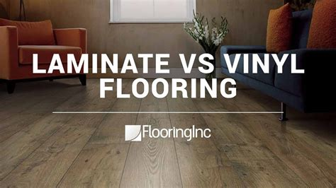 vinyl vs laminat laminate vs vinyl flooring