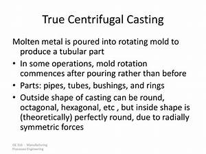 Ppt - Chapter 11 Metal Casting Processes Powerpoint Presentation
