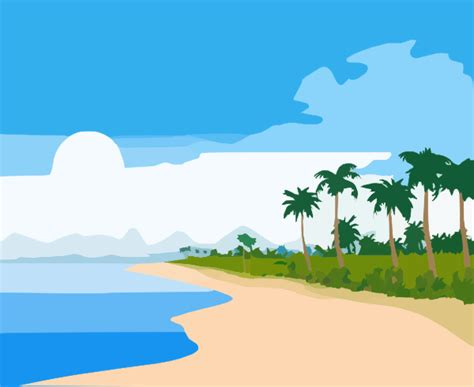 Island-ocean Clip Art At Clker.com