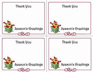 5 Best Images of Printable Christmas Thank You Card ...
