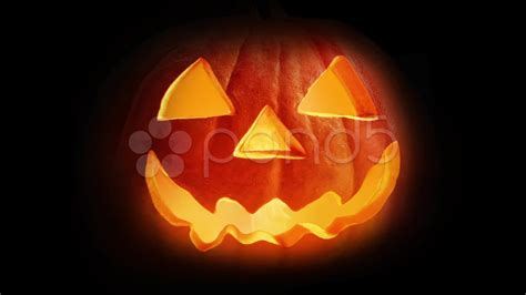 scary pumpkin faces for scary pumpkin face stock footage youtube