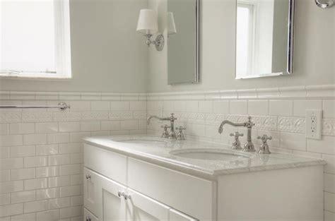 white subway tile bathroom bathroom traditional with