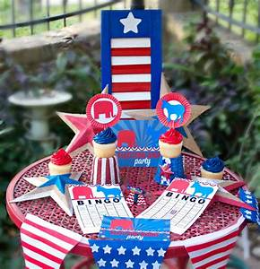 Election Night Party Ideas with Free Printables - Morena's ...