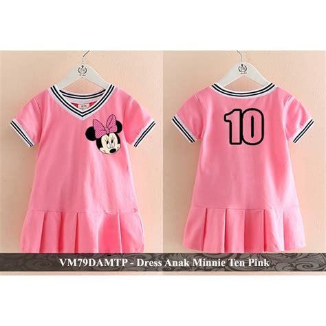 Lihat ide lainnya tentang model pakaian, pakaian, gaya model pakaian. Dress Balita Murah Baju Pakaian Lengan Pendek Anak Perempuan Berkualitas VM79DAMTP Minnie Ten ...