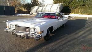 Cadillac Eldorado Cabriolet : 1974 cadillac eldorado convertible 20 000 original miles all original ~ Medecine-chirurgie-esthetiques.com Avis de Voitures
