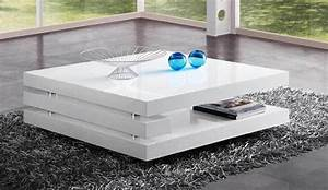 Table basse carre FLAPY 2
