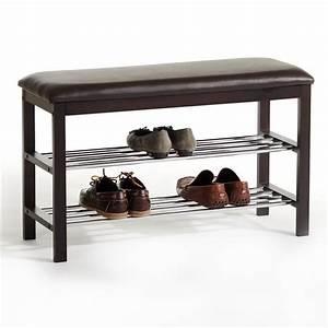 meuble a chaussures sana banc avec assise et 2 etageres With meuble a chaussure avec banc 10 meuble chaussure hauteur 100 cm