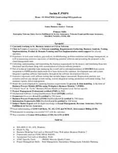 resume for telecom engineer experience sachin 5 yrs telecom ba pmp resume