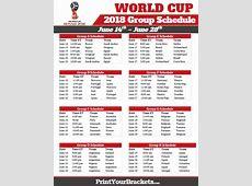 Fifa world cup 2018 schedule calendar 7 2019 2018