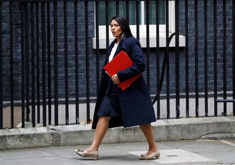 UK Minister Priti Patel May be Sacked Over Undisclosed ...