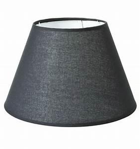 Abat Jour Salon : grand abat jour pour lampe noir tom ~ Teatrodelosmanantiales.com Idées de Décoration