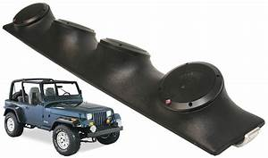 Jeep Wrangler Rockford R152 Car Audio 2way Quad Speakers Loaded Sound Bar System
