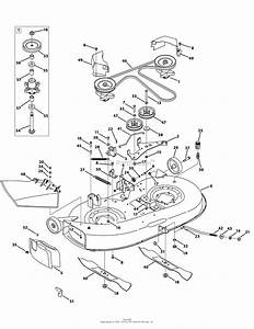 Mtd 13aj775g059  2009  Parts Diagram For Mower Deck 42 Inch